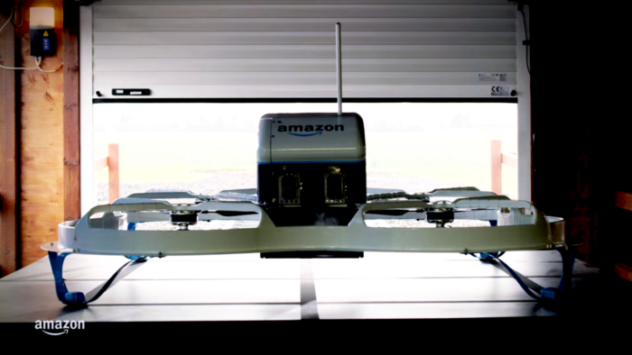 Amazon Prime Air first drone delivery - The Tech Toys