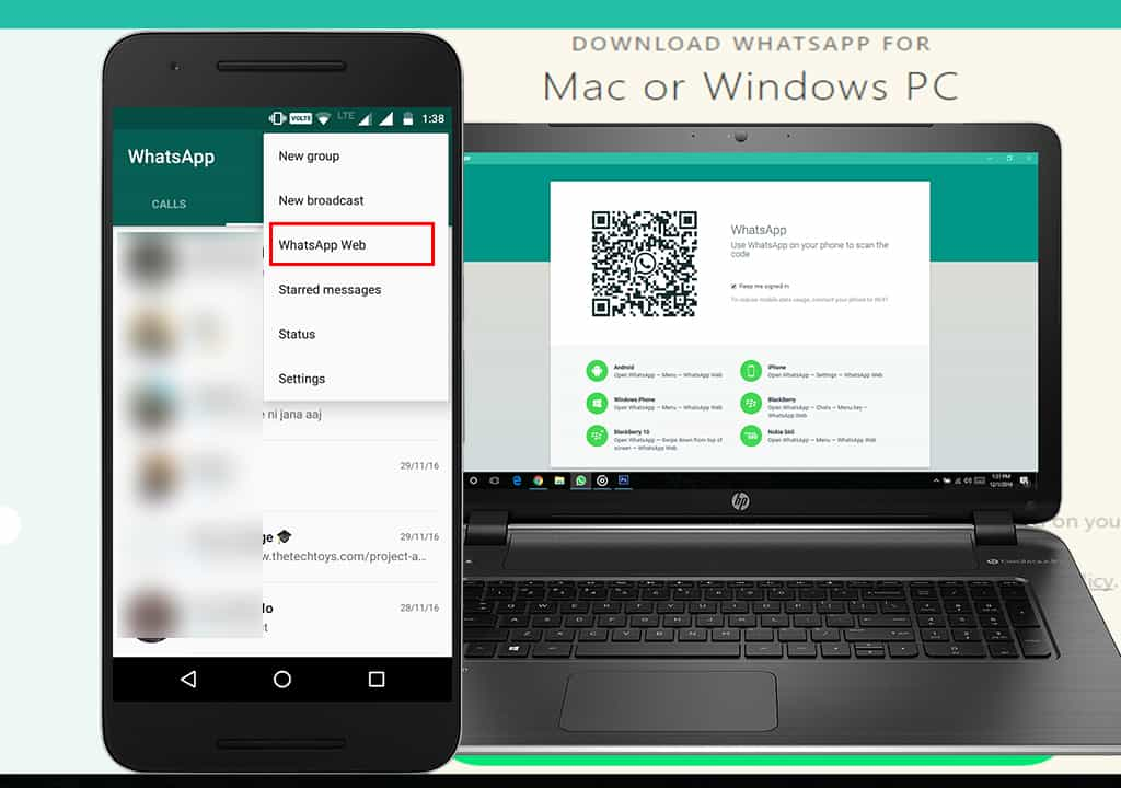 download whatsapp web pc