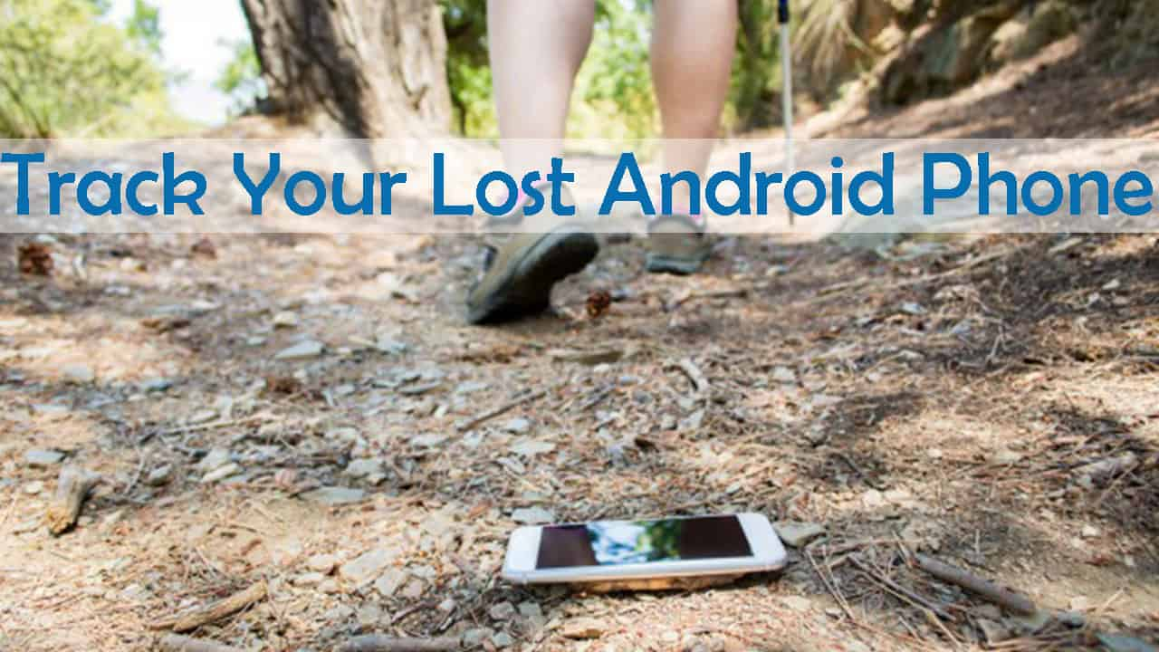 track android phone