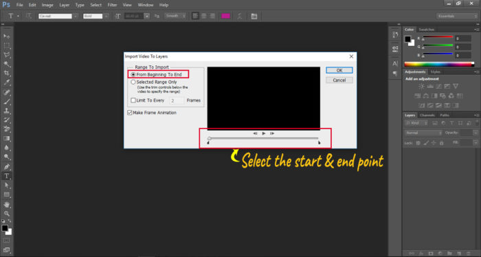 how to make a gif photoshop