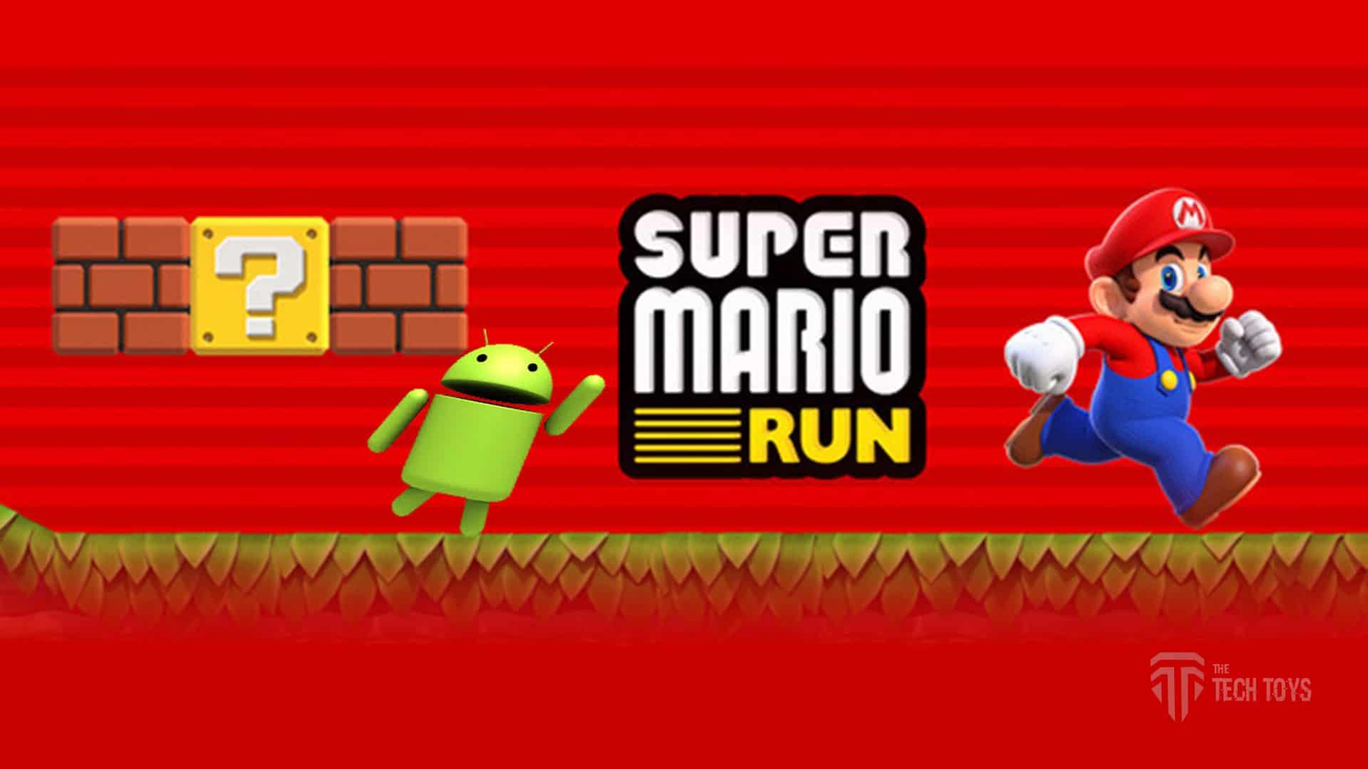super mario run on Android