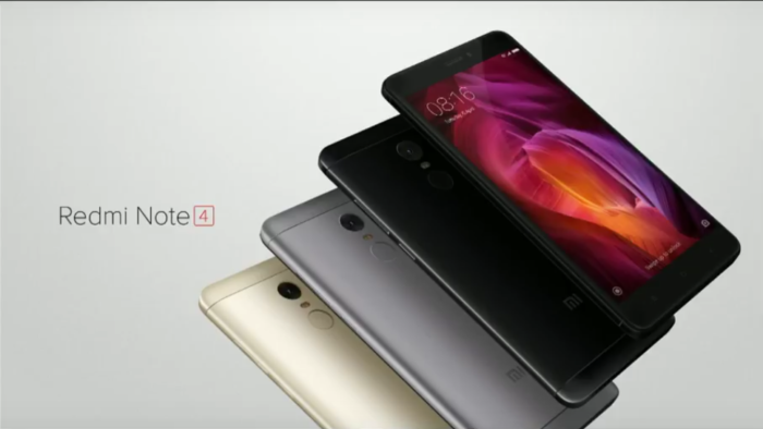 redmi note 4 India thetechtoys