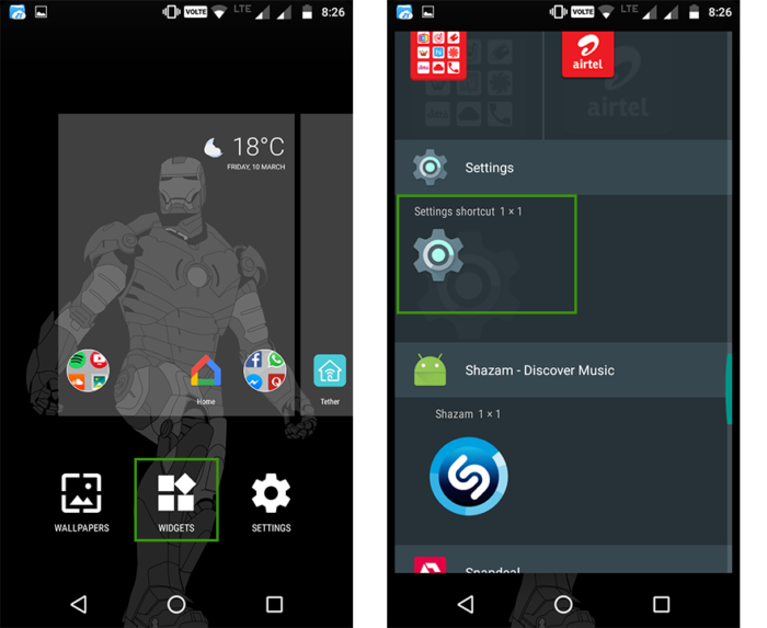 Android Hidden Features