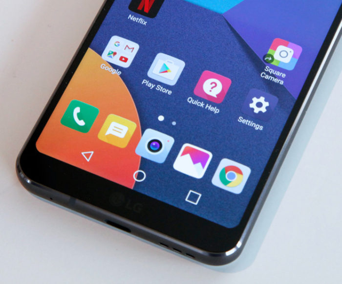 LG G6 like Rounded Corner on Android cornerfly