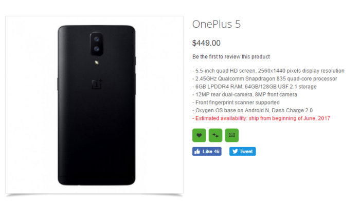 One plus 5 thetechtoys dot com