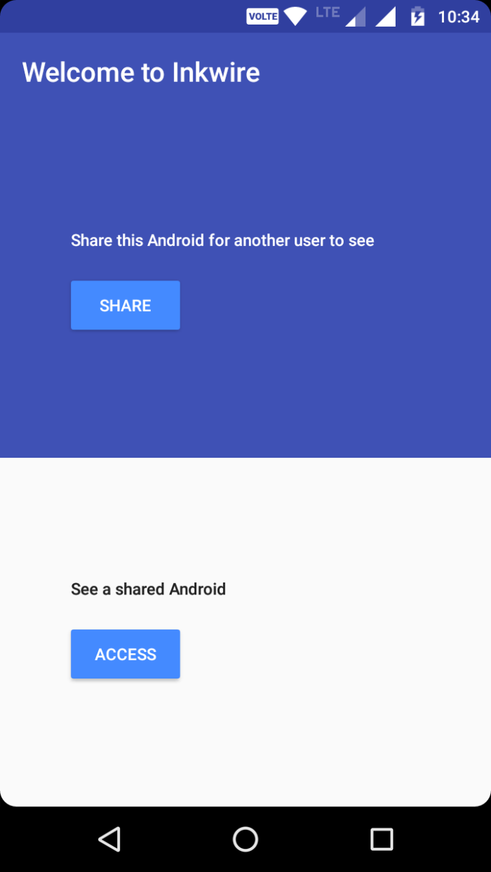 share android screen to another android