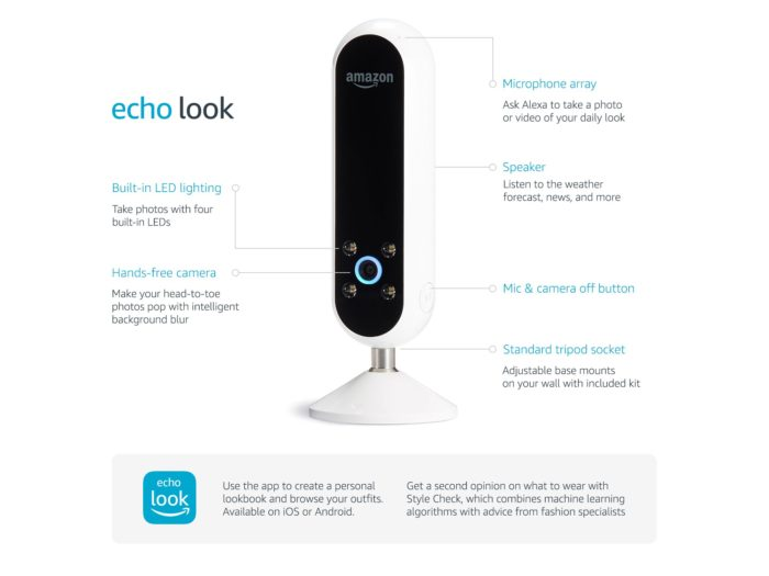 amazon echo look the tech toys dot com