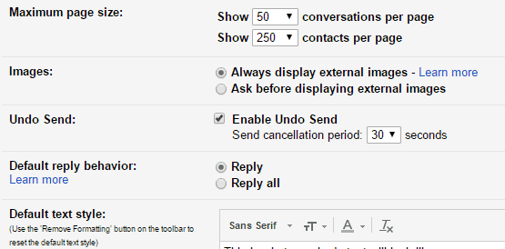 gmail undo send thetechtoys dot com