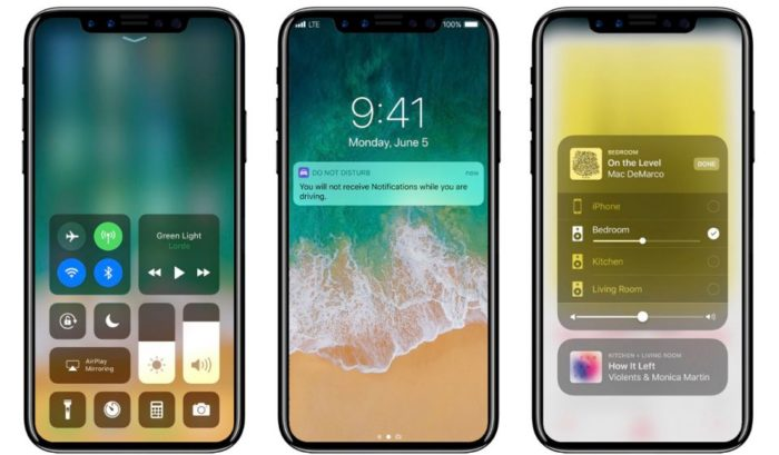iphone 8 embedded display fingerprint sensor vivo