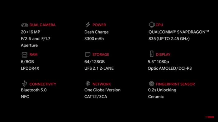 OnePlus 5 the tech toys dot com
