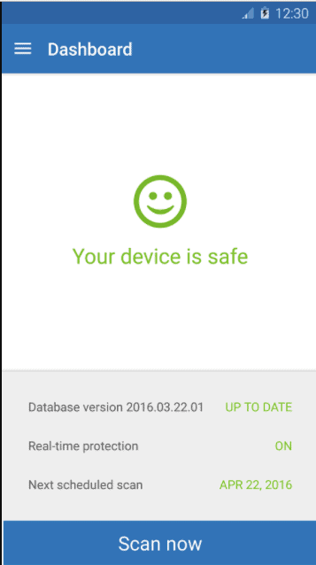 virus removal from android