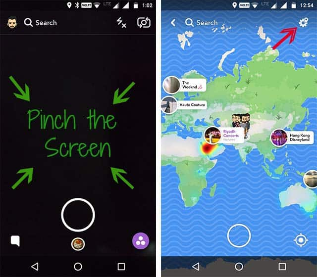 snap map location ghost mode thetechtoys dot com