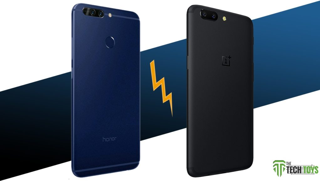honor 8 pro oneplus 5 comparison thetechtoys dot com