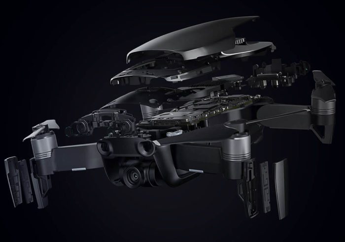 DJI Mavic air nano drone