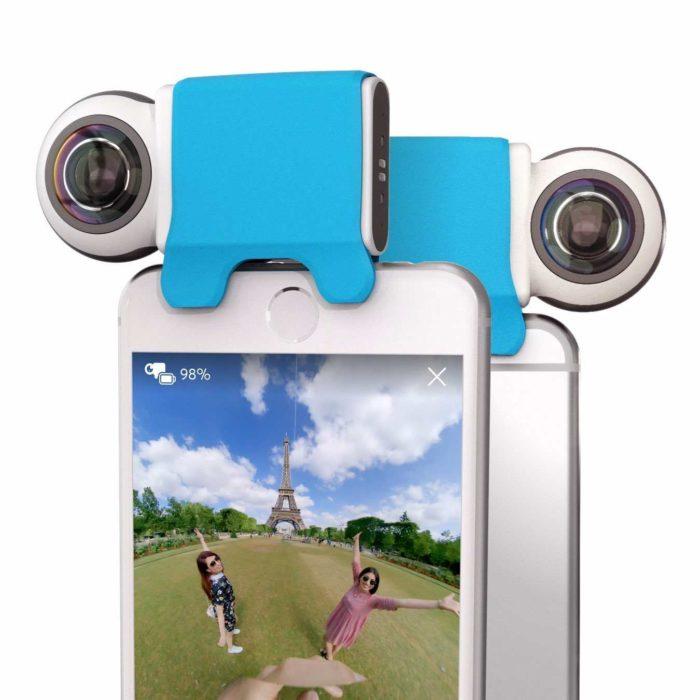 360 video camera iphone