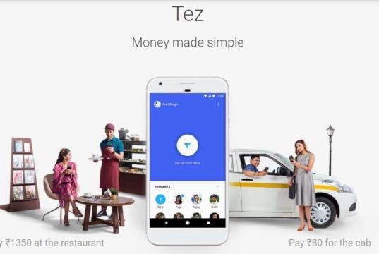 tez payment app the tech toys dot com