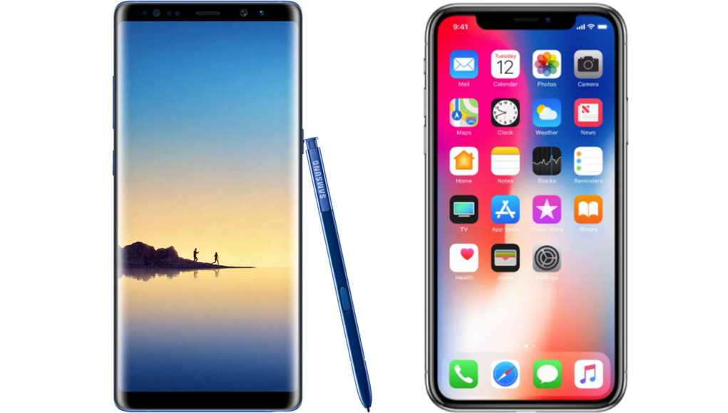 note 8 iphone x thetechtoys dot com
