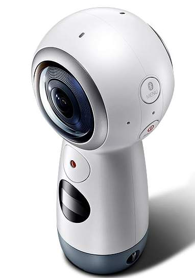 samsung gear 360 degree camera