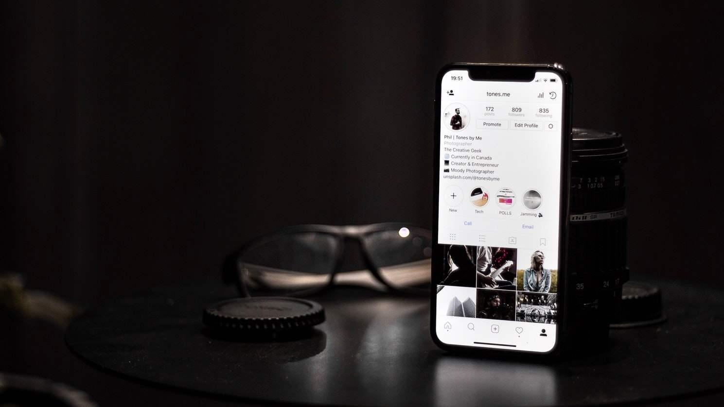 share instagram post on story