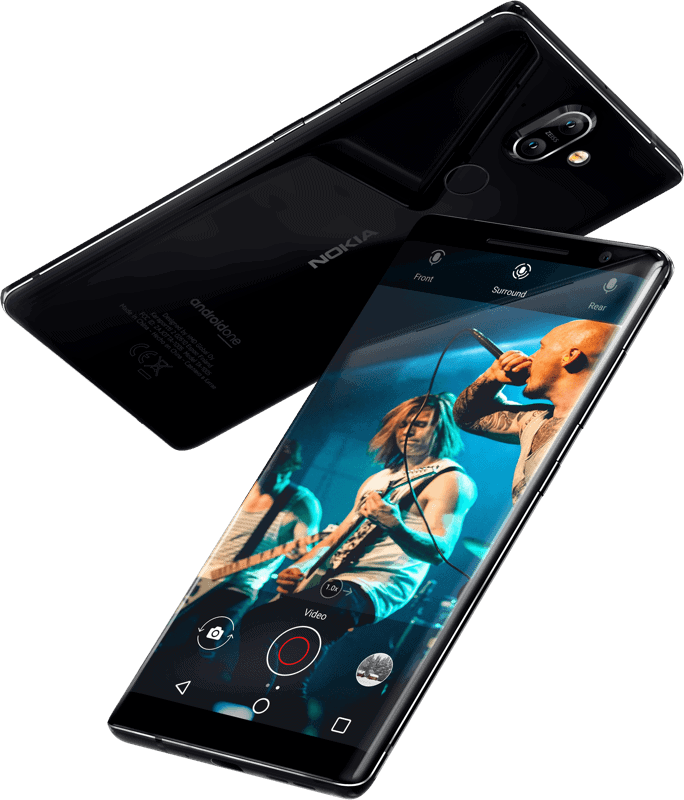 Nokia 8 sirocco india price